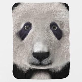 Panda Bear Receiving Blankets