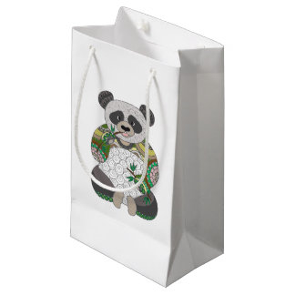 Panda Bear Small Gift Bag