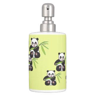Panda Bear Soap Dispenser and Toothbrush Holder