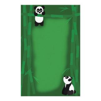 Panda Bear Stationary Personalized Stationery