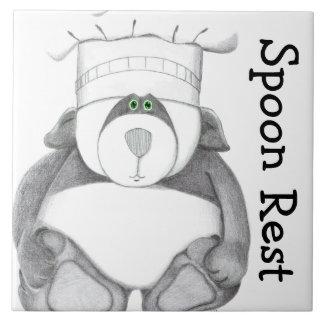 Panda Bear Trivet Spoon Rest
