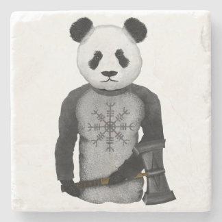 Panda Bear Viking Stone Coaster