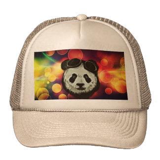 Panda Bear with Bokeh Art Cap
