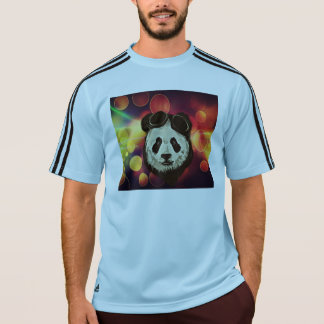 Panda Bear with Bokeh Art T-Shirt