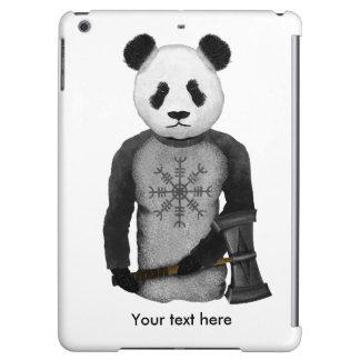 Panda Bear With Viking Hammer
