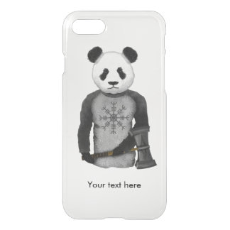 Panda Bear With Viking Hammer iPhone 8/7 Case