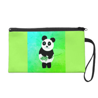 Panda Bear Wristlet Bag/Purse