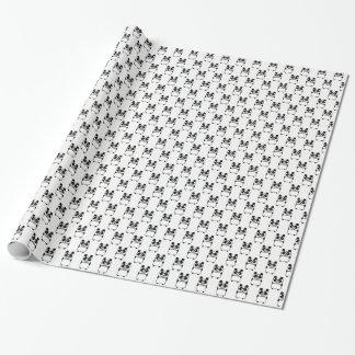 Panda Beared Wrapping Paper