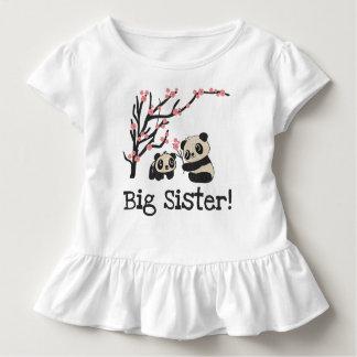 Panda Bears Big Sister T-shirts