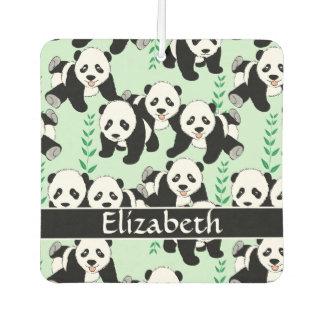 Panda Bears Graphic Pattern to Personalize