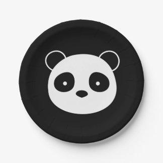 Panda Birthday Plates