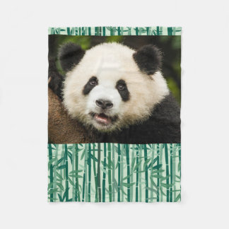Panda Blankie Fleece Blanket