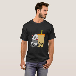 Panda + Boba T-Shirt