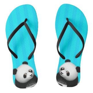 Panda Bon Bon Slim Straps Thongs