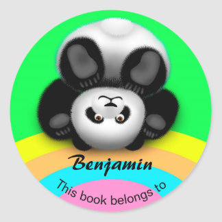 Panda Bon Bon Sticker