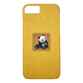 Panda BonBon Yellow Mate Barely There iPhone Case