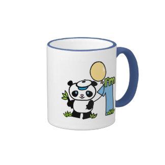 Panda Boy 1st Birthday Mugs