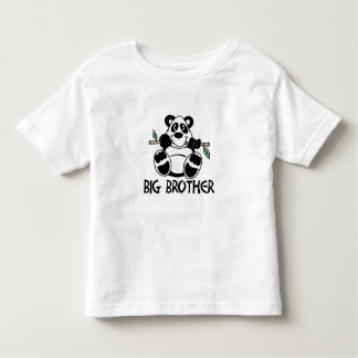 Panda Boy Big Brother Toddler T-Shirt