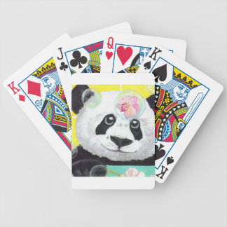 Panda Bubbles Bicycle Playing Cards