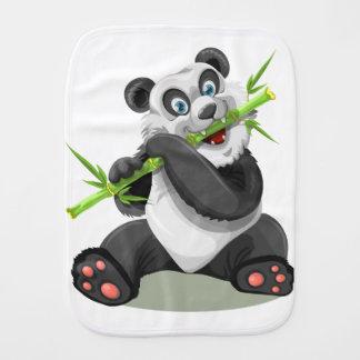 panda burp cloth