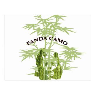 Panda Camo Postcard