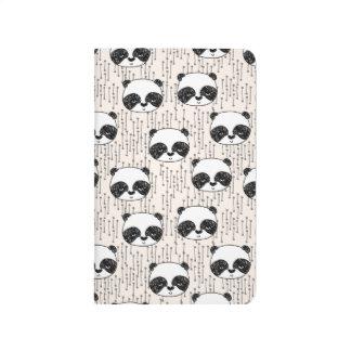 Panda - Champagne Black White / Andrea Lauren Journal