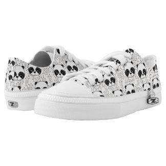 Panda - Champagne Black White / Andrea Lauren Printed Shoes