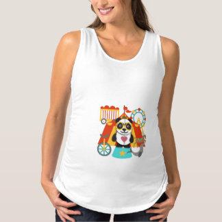 Panda Circus Design by LH Maternity Singlet