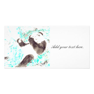 Panda Cloud PhotoCard Personalised Photo Card