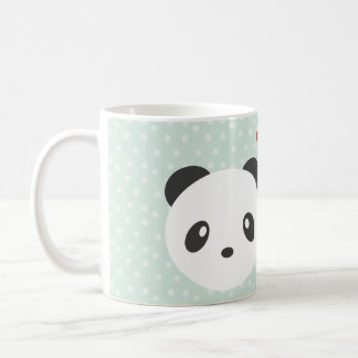 Panda couple coffee mug