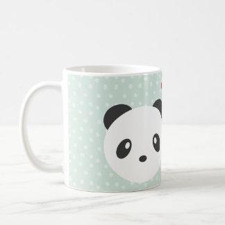 Panda couple mugs