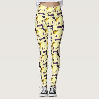 Panda design leggings