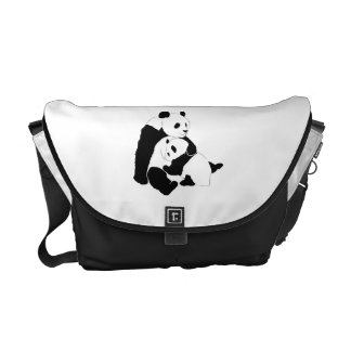 Panda Design Messenger Bag