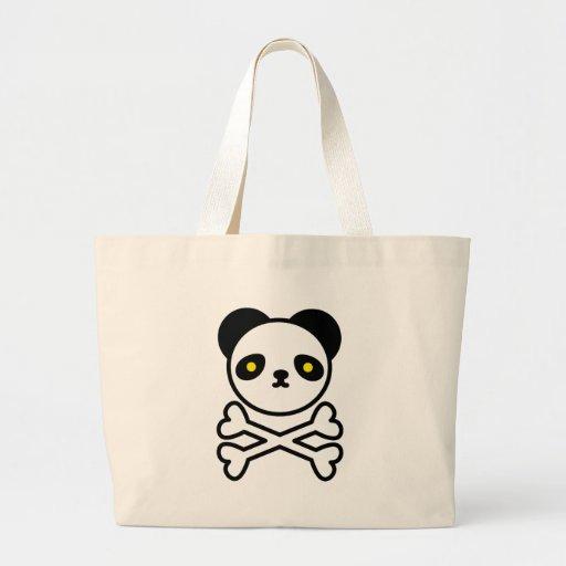 Panda do ku ro canvas bags