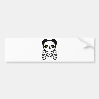 Panda do ku ro bumper stickers