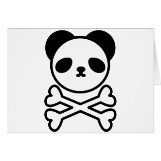 Panda do ku ro greeting card