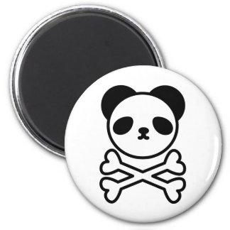 Panda do ku ro 6 cm round magnet
