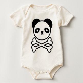 Panda do ku ro rompers