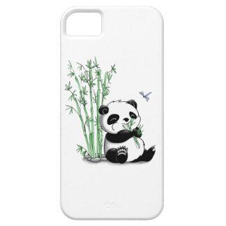 Panda Eating Bamboo iPhone 5 Cases