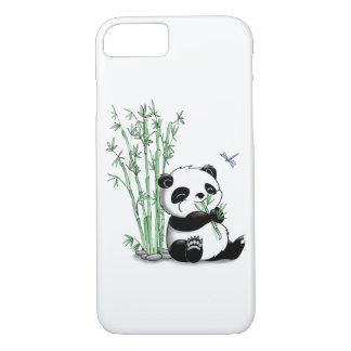 Panda Eating Bamboo iPhone 8/7 Case