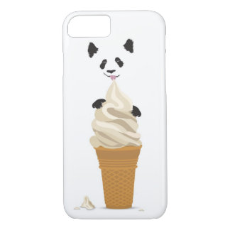 Panda Eating Ice Cream iPhone 7 Case