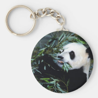 panda eating key chains