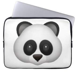 Panda - Emoji Laptop Sleeve