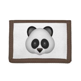 Panda - Emoji Tri-fold Wallets