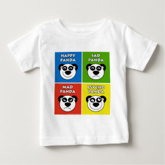 Panda Emotions Baby T-Shirt