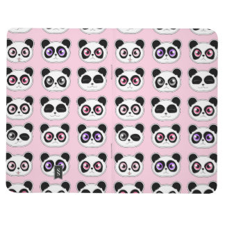 Panda Expressions Pink Journals