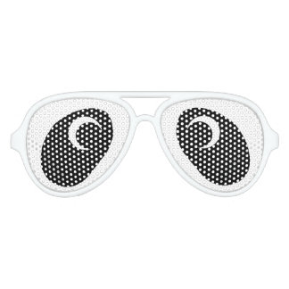 Panda Eyes Aviator Sunglasses