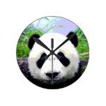Panda Eyes Clocks