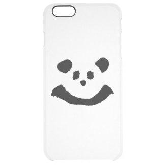 Panda Face Clear iPhone 6 Plus Case