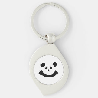 Panda Face Key Ring